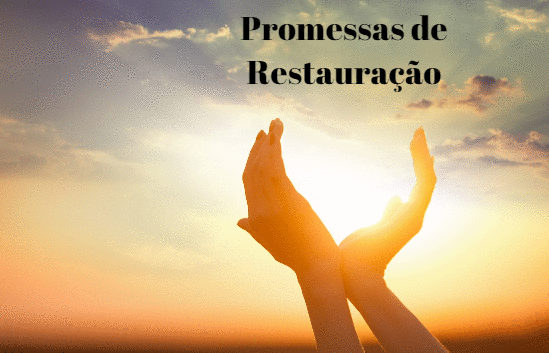Deus quer restaurar sua vida